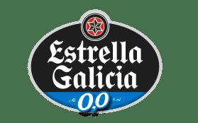 Logotipo de Estrella Galicia 0,0